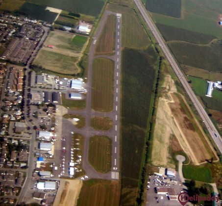 Chilliwack Airport by helicopter