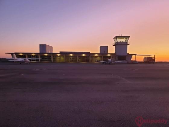 Vilar de Luz Aerodrome  by helicopter