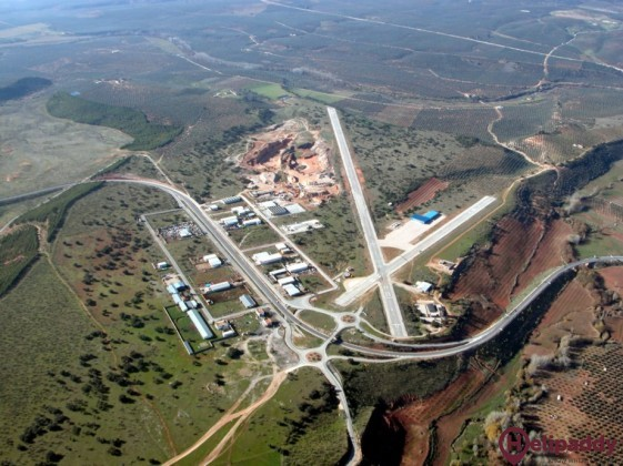Beas De Segura Aerodromo by helicopter