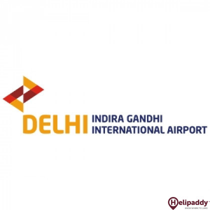 Indira Gandhi International Airport by helicopter