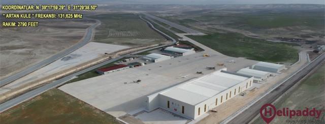 Sivrihisar Havacılık Merkezi by helicopter
