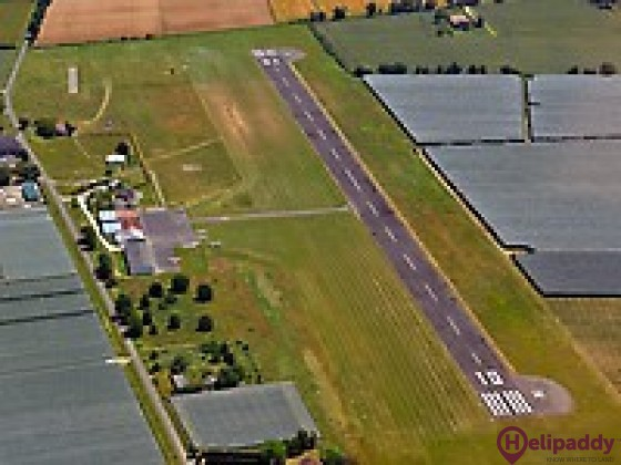 Castelsarrasin Moissac Airport by helicopter