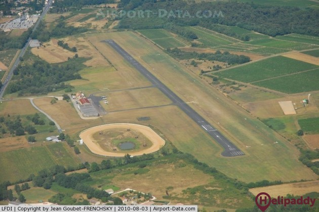 Libourne Artigues de Lussac Airport by helicopter