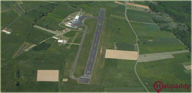 Sarlat Domme Airport by helicopter