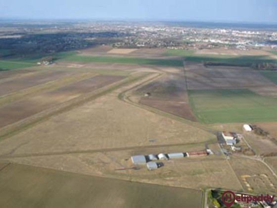 Montargis Vimory Airport by helicopter