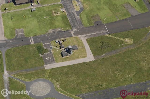 Campbeltown by helicopter