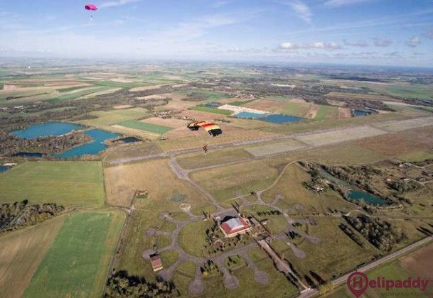 Brienne-le-Chateau Airport by helicopter