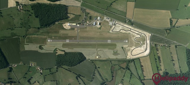 Moulins-Montbeugny Airport by helicopter