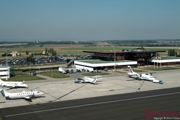 Metz-Nancy-Lorraine Airport by helicopter