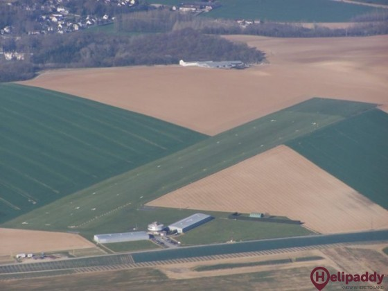 Soissons - Courmelles Airport by helicopter