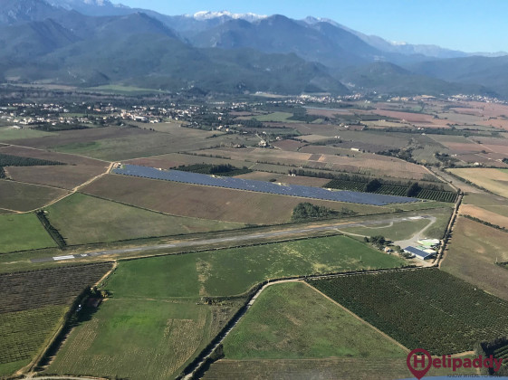 Ghisonaccia Alzitone Airport by helicopter