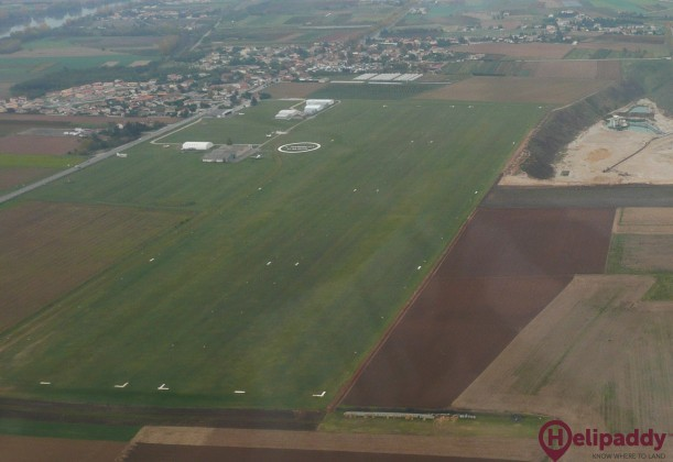 Saint-Rambert-d'Albon Airport by helicopter