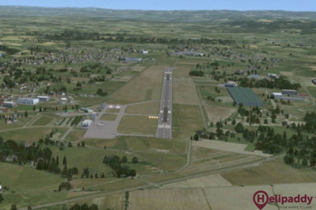 Saint-etienne-Boutheon Airport by helicopter