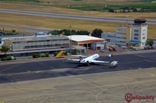 Perpignan Rivesaltes Airport by helicopter