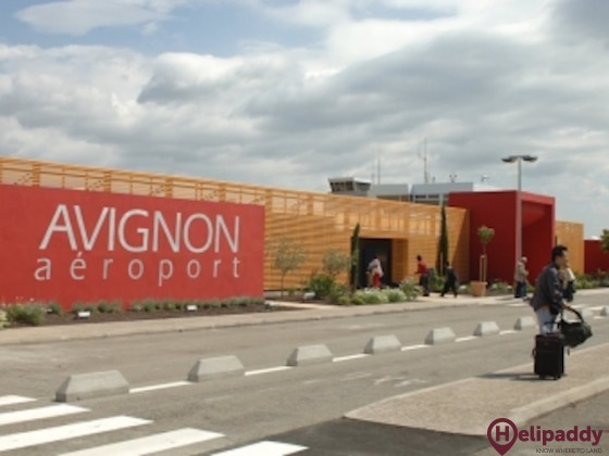 Avignon-Caumont Airport by helicopter