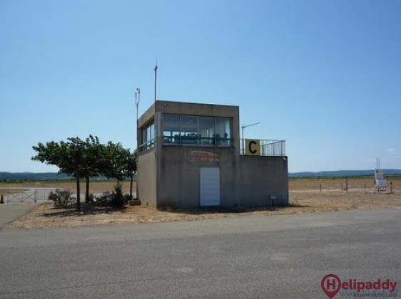 Lezignan-Corbieres Airport by helicopter