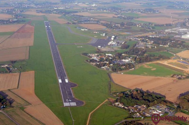 Le Havre Octeville Airport by helicopter