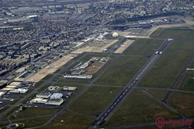 Paris-Le Bourget Airport by helicopter