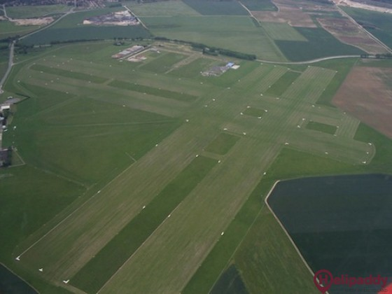 Meaux Esbly Airport by helicopter