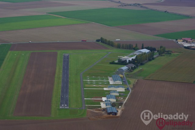 Le Plessis Belleville Airport by helicopter