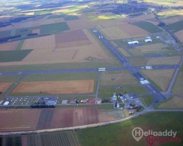 Pontoise Airport by helicopter