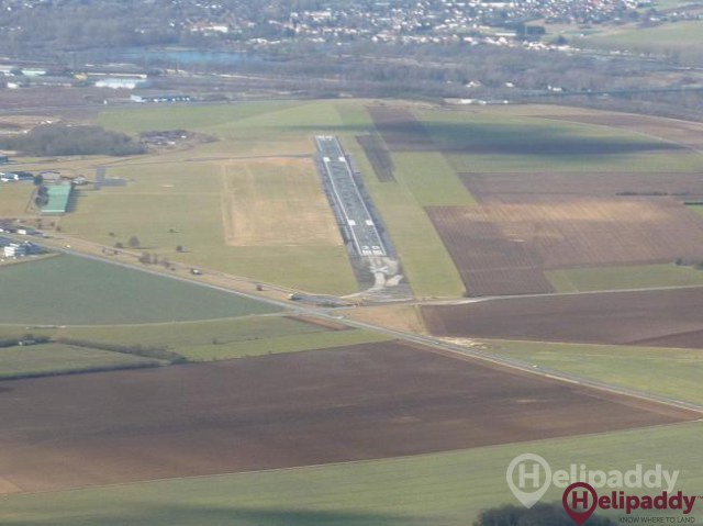 Maubeuge-elesmes Airport  by helicopter