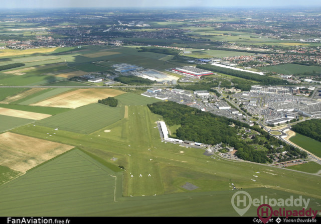 Lens Benifontaine Airport by helicopter