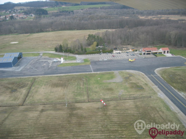 Besancon-La Veze Airport by helicopter