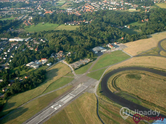 Saint Omer Wizernes Airport by helicopter