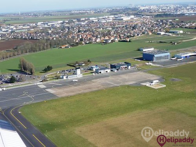 Caen-Carpiquet by helicopter