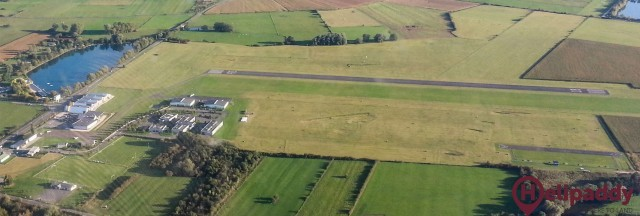Sedan Douzy Airport by helicopter
