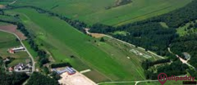 Vittel Champ De Course Airport by helicopter
