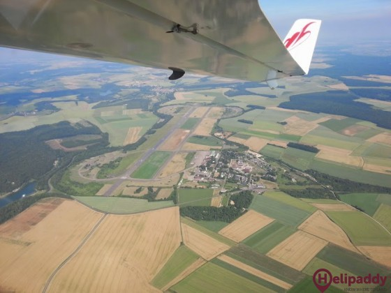 Marville Montmedy Airport by helicopter