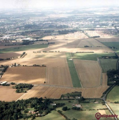 Rougham Airfield by helicopter