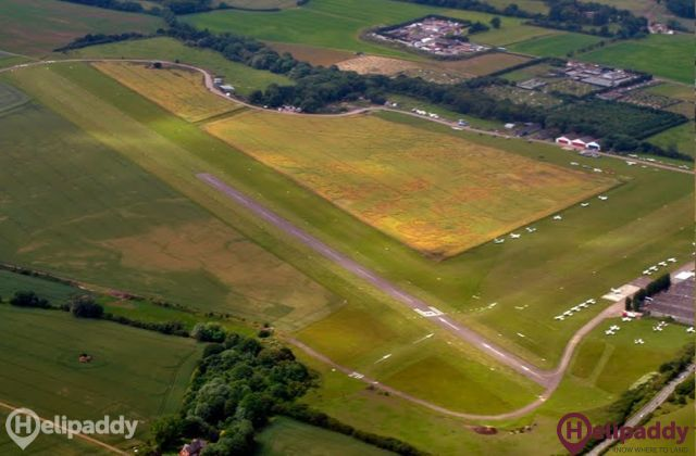 Stapleford by helicopter