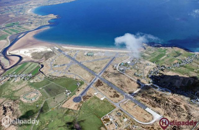 Stornoway by helicopter