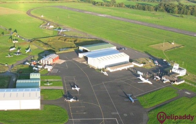 Carlisle Lake District Airport by helicopter