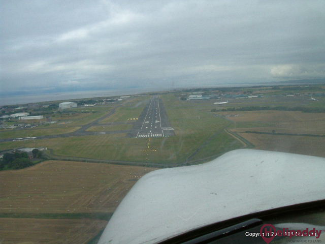 Prestwick  by helicopter