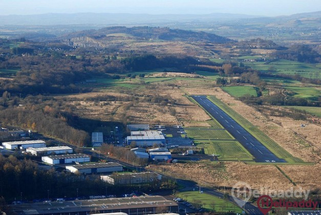 Cumbernauld by helicopter