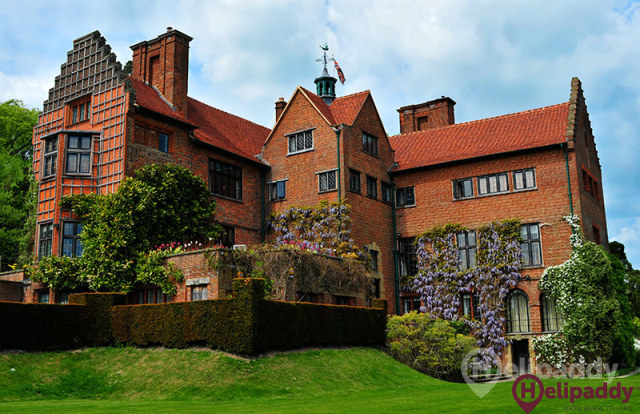Chartwell by helicopter