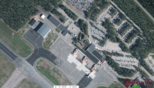 Swedavia Lulea Airport by helicopter