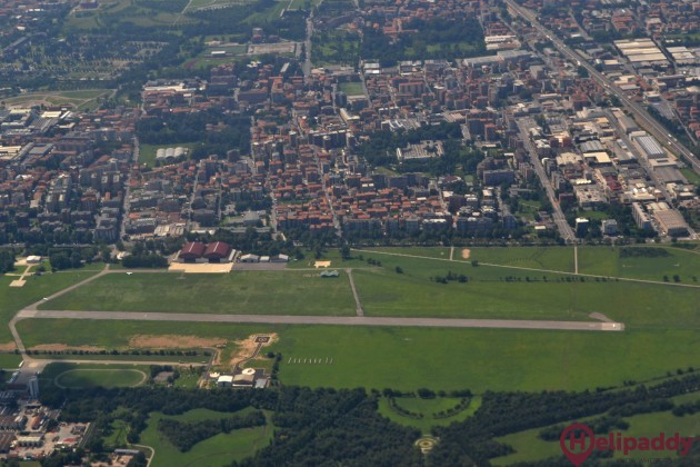 Aero Club Lugo by helicopter