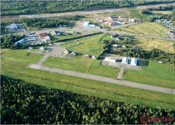 Saint Stephen Airport by helicopter