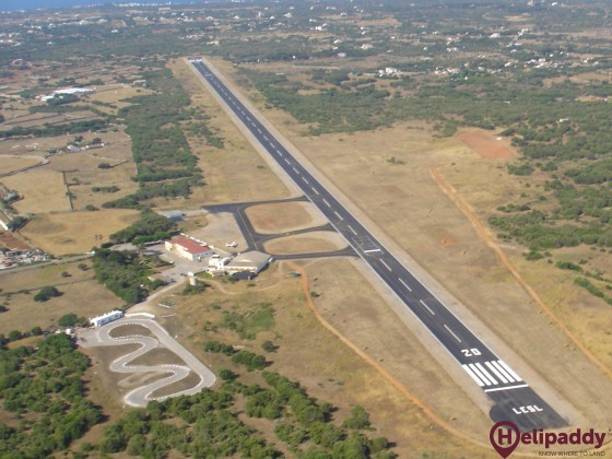 San Luis Aerodrome by helicopter