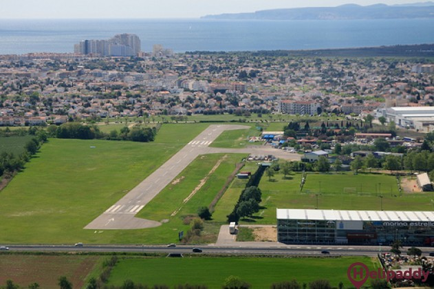 Empuriabrava by helicopter