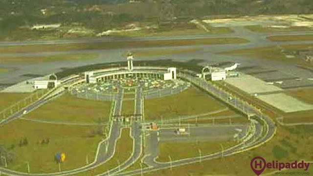 Córdoba Airport by helicopter