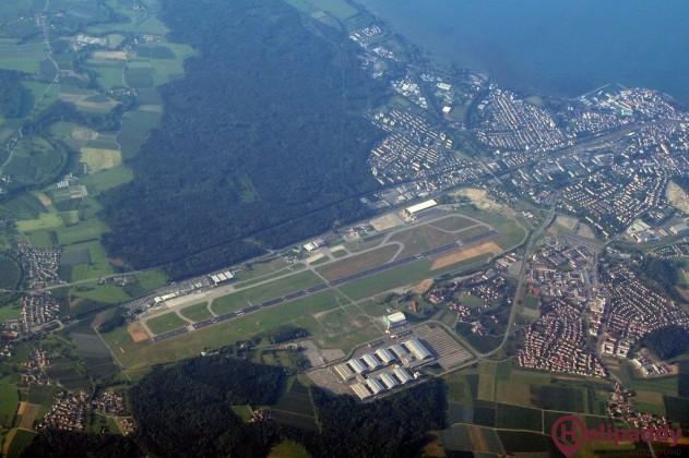 Bodensee Friedrichshafen by helicopter