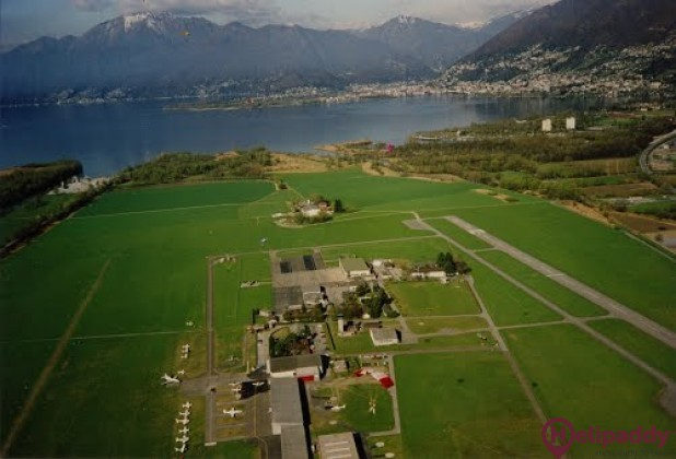 Locarno  by helicopter