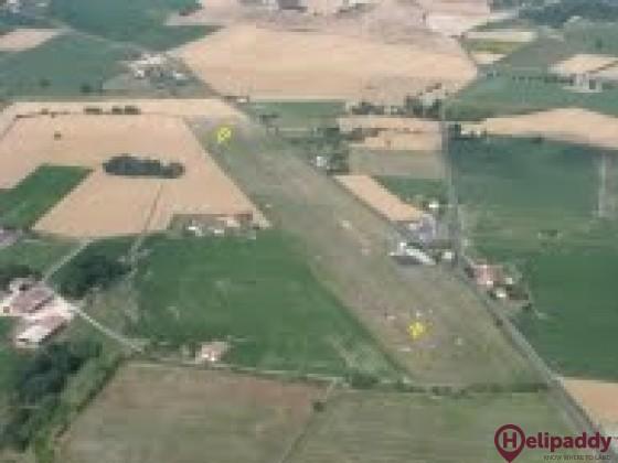 Aérodrome de Chalais by helicopter