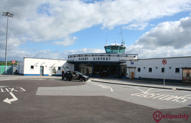 Kerry Airport  by helicopter